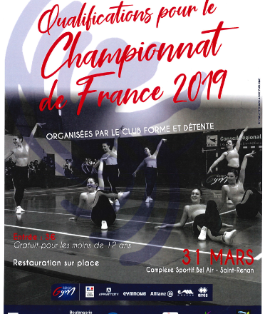 Aerobic Qualification 31mars2019 affiche