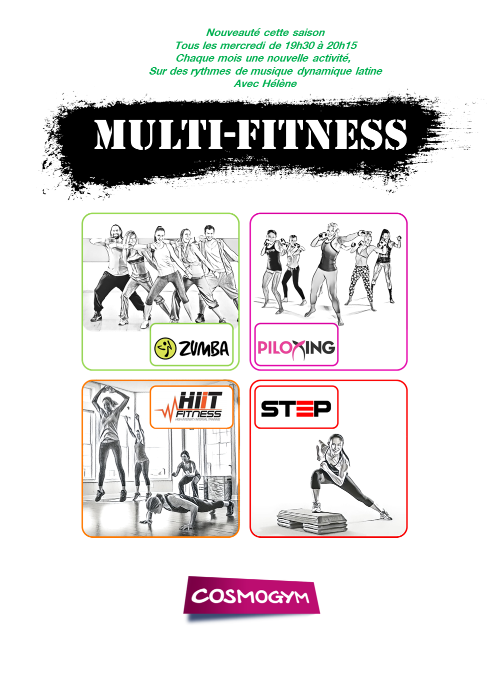 Affiche MultiFitness